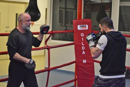 Berki Ferenc box edzés