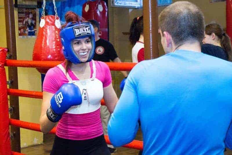 Vecsési box klub női boksz