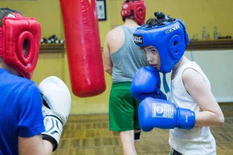 Vecsési box klub kisgyermek edzés