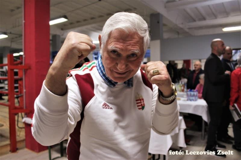 Gedó GYörgy olimpiai bajnok ökölvívó.