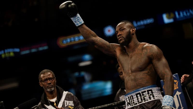 Deontay Wilder - Dominic Breazeale