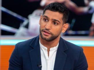 Amir Khan profi váltósúlyú ökölvívó.