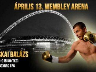 Bacskai Balázs a Wembley Stadionban