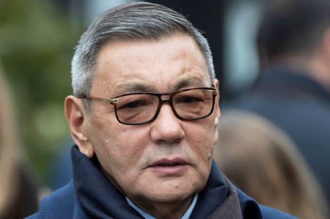 Gafur Rakhimov az AIBA elnöke.