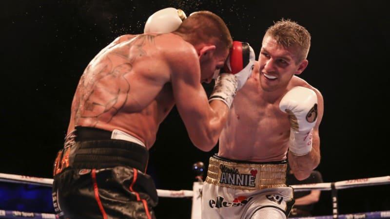 Liam Smith korábbi WBO nagyváltósúlyú világbajnok.
