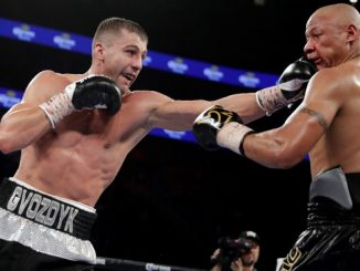 WBC félnehézsúlyú világbajnok Oleksandr Gvozdyk.