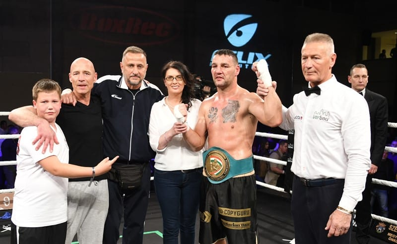 Darmos József cirkálsóúlyú magyar bajnok.