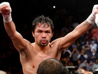 Manny Pacquiao váltósúlyú világbajnok.
