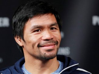 Manny Pacquiao világbajnok ökölvívó.