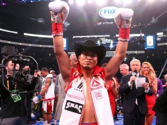 Mikey Garcia WBC könnyűsúlyú világbajnok.