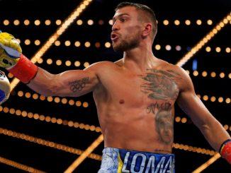 Vasyl Lomachenko könnyűsúlyú világbajnok.