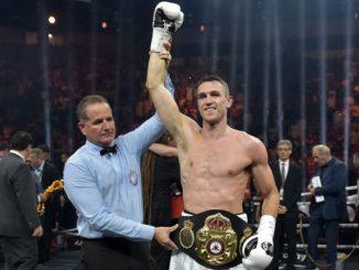 Callum Smith nagyküzépsúlyú WBA Super világbajnok.
