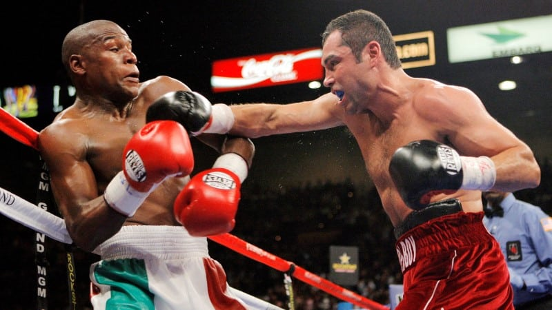 Mayweather VS De La Hoya