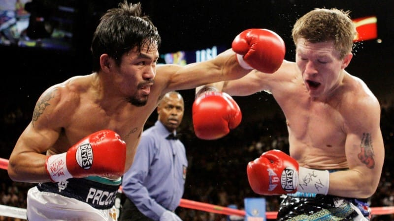 Manny Pacquiao és Ricky Hatton